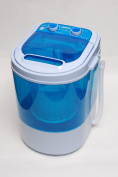 PORTABLE 230V MINI WASHING MACHINE IDEAL FOR CARAVAN MOTORHOMES + SPIN DRYER FUNCTION