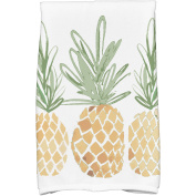 Simply Daisy 41cm x 60cm 3 Pineapples Geometric Print Kitchen Towels