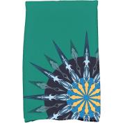 Simply Daisy 41cm x 60cm Sailor's Delight Geometric Print Kitchen Towel