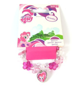 Official Licenced My Little Pony Pink Flower and Heart Charm Bracelet