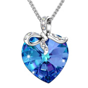 """Sivery """"Blessed Love"""" Pendant Fashion Necklace with Crystal from , Jewellery for Women, Gifts for Her"""