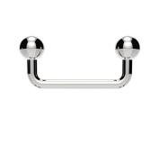 Staple Surface Piercing Barbell Bar