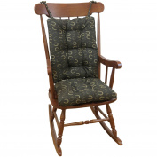Gripper Jumbo Rocking Chair Cushions, Horseshoe