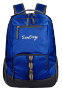 EcoCity Backpack Hiking Daypack Laptop Backpacks School Bag for Men and Women,BP0152B3,Blue