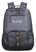 EcoCity Backpack Hiking Daypack Laptop Backpacks School Bag for Men and Women,BP0152G3,Grey