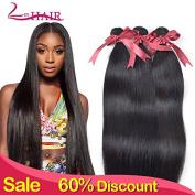 Lin Hair 100% Virgin Peruvian Straight Hair Bundle Human Hair Extensions Natural Colour Hair Weave 30cm