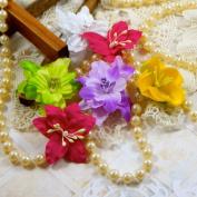 Blue Fern Studios 817687 Blue Fern Fabric Flowers-Spring Florals