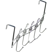 Southern Homewares Music Note Treble Clef Shape Over The Door Metal Hooks