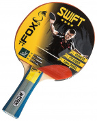 Fox TT Unisex Swift 4 Star Table Tennis Bat, Red