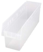 Quantum Storage Systems 27kg Capacity, Shelf Bin, Clear QSB806CL