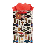 The Gift Wrap Company All That Ales You Medium Bag, 1 Ct