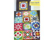 Cabbage Rose Barn Quilt Ptrn