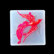 SEPTEMBER Jewellery Beading Casting Mould, DIY Handmade Silicone Mould, Clear Mould For Resin, Crystal, Square, Phoenix Gift