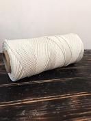 Niroma Studio 3-strand Cotton Rope (3 mm), Cotton Macrame Rope, Macrame Cord