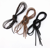 Honbay 9pcs 1 Metre Leather Cord Strings for Bracelet Necklace Beading Jewellery Making