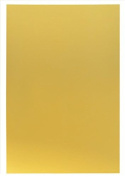 Hygloss Metallic Foil Paper, 25cm x 33cm , Gold, Class Pack 50 Sheets