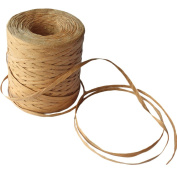 Creatrill 218 Yards Raffia Paper Craft Ribbon Packing Paper Twine, 0.6cm by 218 Yards