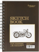 Artlicious - Sketch Pad 14cm x 22cm for Drawing, Colouring & Doodling