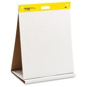3M Tabletop Easel Pad, Super Sticky, 20 Sht, 50cm x 60cm , Plain WE