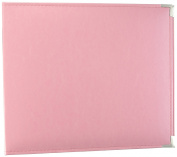 American Crafts 660919 We R Memory Keepers Classic D-Ring Scrapbooking Album, 30cm x 30cm , Pretty Pink