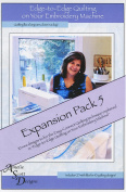 Edge-to-Edge Quilting on Your Embroidery Machine Expansion Pack 5 CD - Amelie Scott Designs