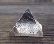 [A & S Crystals] SMOKEY QUARTZ natural Medium gemstone crystal pyramid 27-30mm