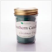 Christmas Tree 240ml Heritage Jar Natural Soy Wax Candle