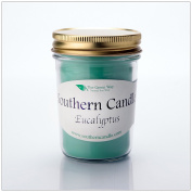 Eucalyptus - 240ml Heritage Jar Natural Soy Wax Candle