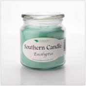 Eucalyptus 470ml Decorator Jar Natural Soy Wax Candle