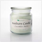 Cucumber Melon 470ml Decorator Jar Natural Soy Wax Candle