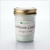Ginger Lime - 240ml Heritage Jar natural Soy Wax Candle