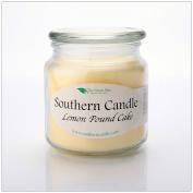 Lemon Pound Cake 470ml Decorator Jar Natural Soy Wax Candle