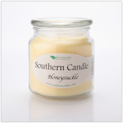 Honeysuckle 470ml Decorator Jar Natural Soy Wax Candle