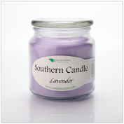 Lavender 470ml Decorator Jar Natural Soy Wax Candle