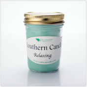 Relaxing - 240ml Heritage Jar Natural Soy Wax Candle