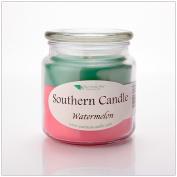 Watermelon 470ml Decorator Jar Natural Soy Wax Candle