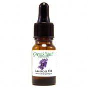 Lavender – 1/3 fl oz (10 ml) Glass Bottle w/ Glass Dropper – 100% Pure Essential Oil – GreenHealth
