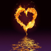 HEARTS OF FIRE FRAGRANCE OIL - 470ml/ 0.5kg - FOR CANDLE & SOAP MAKING BY VIRGINIA CANDLE SUPPLY - FREE S & H IN USA
