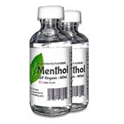 Liquid Menthol Crystals - 10-120mL - USP Grade Menthol Flavouring Extract