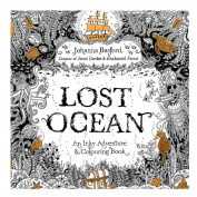 Fun Adult Colouring Book Designs Stress Relief Colouring Book Lost Ocean/Secret Garden