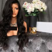 Glueless Full Lace Human Hair Wigs 8A Grade Brazilian Virgin Body Wave Wig