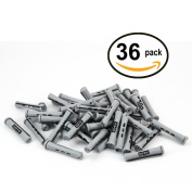 36 pc of COTU (R) Hair Perm Rods Short Size - Grey Colour