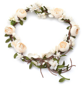 Vintage Flower Hair Vine Crown Tiaras - Diy Hair Accessories For Wedding Festivals