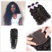 Water Wave Hair Bundles Brazilian Virgin Curly Hair Weft One Bundles 100% Unprocessed 100 Virgin Human Hair Extensions Natural Colour 30cm