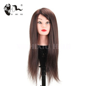60cm Mannequin Training Head Hair Styling Long Hair Mannequin Cosmetology Mannequin Heads Hair Models Made