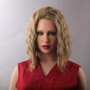 YAMEIJIA Bob Short Natural Wavy Women's Human Hair Lace Front Wig , average