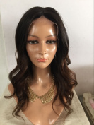 100% human hair Medium Wigs big curly virgin hair full lace wig and frontal lace wig