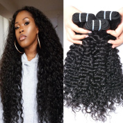 GEM Beauty Virgin Peruvian Curly Hair Bundles 3pcs lot Deep Curly Weave Unprocessed Human Hair Extensions Remy Peruvian virgin hair 1B 20 20 50cm