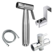 Joyway Bidet Toilet Sprayer Set-Stainless Steel Handheld Bidet Sprayer Kit for Bathroom Self Cleaning