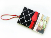 Baby Portable Nappy Changing Pad, Organiser for Travel - Waterproof Change Mat with Clutch Baby Travel Changing Kit